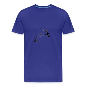 Donald Trump Tweeting T Shirt - Men's Premium T-Shirt