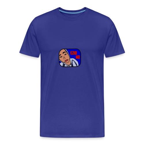 Logo Ezio HD - Men's Premium T-Shirt