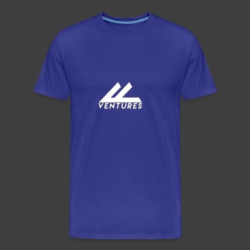 Vanity Ventures White Logo - Men's Premium T-Shirt