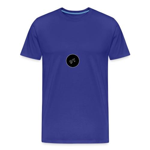 DJ BeatT BT Black logo - Men's Premium T-Shirt