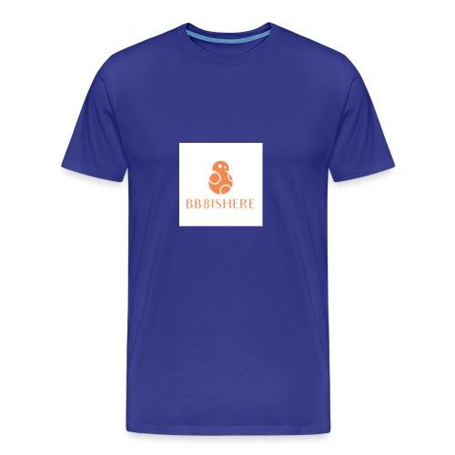 bb8ishere logo - Men's Premium T-Shirt