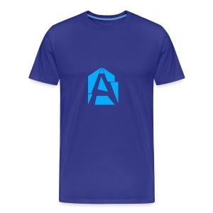 Abstrakt Simplistic - Men's Premium T-Shirt