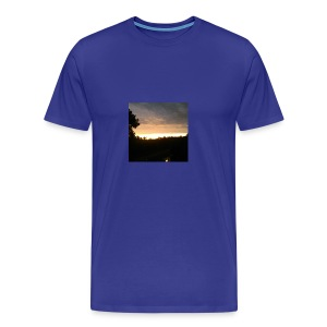 Country side sunset - Men's Premium T-Shirt