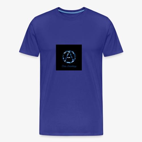 Ora Smokey / Camo Blue - Men's Premium T-Shirt