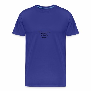 poorlyDesigned - Men's Premium T-Shirt
