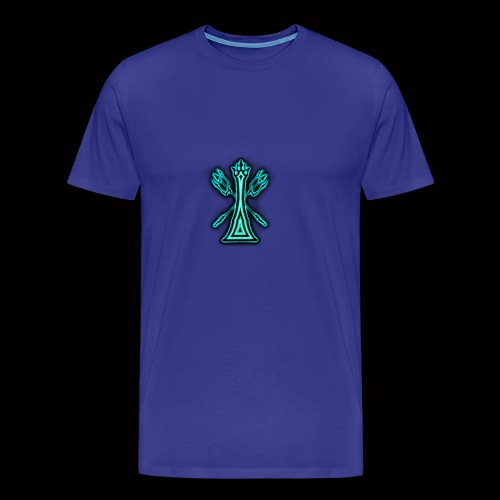 kingoftheblueflame - Men's Premium T-Shirt