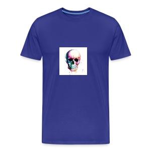 Colourful skull - Men's Premium T-Shirt