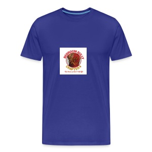 Lady in Red Bedroom Bully - Men's Premium T-Shirt