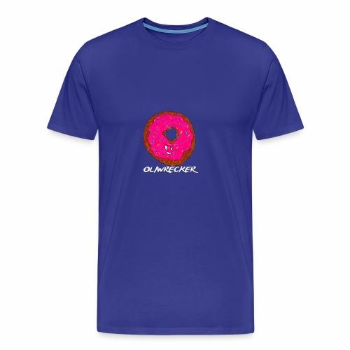 Doughnut Design - Men's Premium T-Shirt
