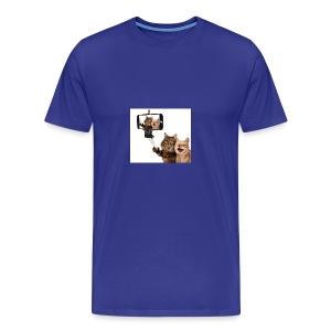 selfi-wallpaper-10928212 - Men's Premium T-Shirt