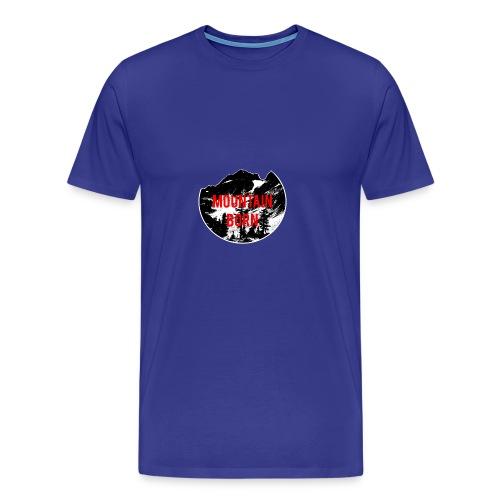 Mountain Born - Men's Premium T-Shirt