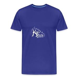 KC Fire Bright Design - Men's Premium T-Shirt