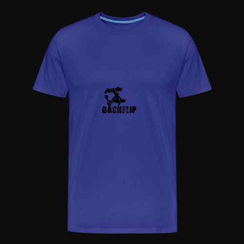 Back flip Skate Level - Men's Premium T-Shirt