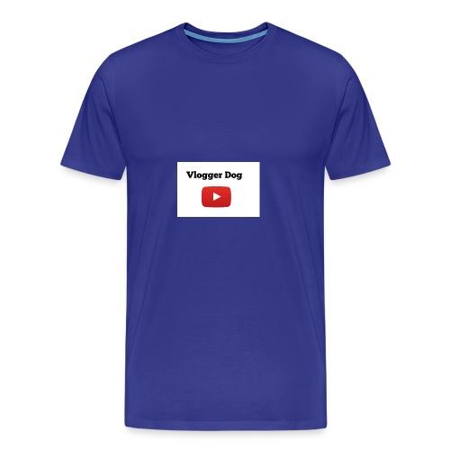 Vlogger Dog iphone case and samsung case. - Men's Premium T-Shirt