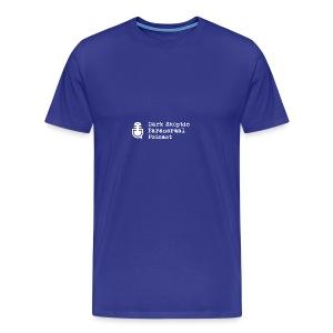 Dark Skeptic Paranormal Podcast Logo PNG - Men's Premium T-Shirt