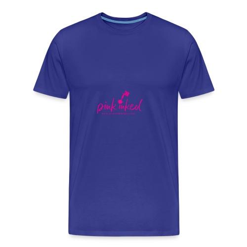 Pink_Inked - Men's Premium T-Shirt