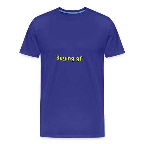 Runescape Buying GF - Men's Premium T-Shirt
