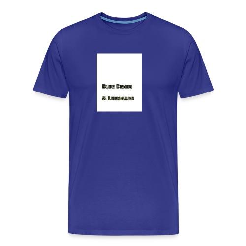Blue Denim and Lemonade Brand - Men's Premium T-Shirt