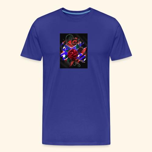 rebel roses - Men's Premium T-Shirt