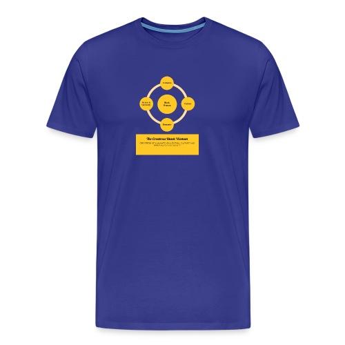 The Creatress Black Woman 1.0 - Men's Premium T-Shirt