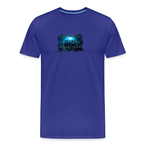 Total Solar Eclipse Summer August 21st 2017 - Men's Premium T-Shirt