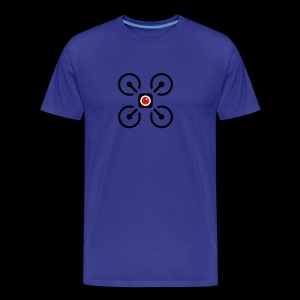 Drone Art Logo Black - Men's Premium T-Shirt