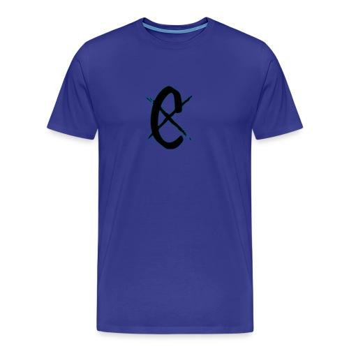 ChrisCrozNetwork Logo - Men's Premium T-Shirt