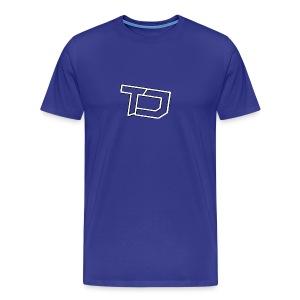 Team Discords Logo - Men's Premium T-Shirt
