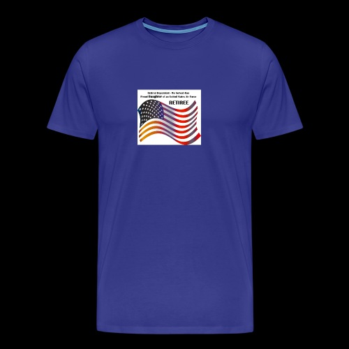 retired Military Dependents - Men's Premium T-Shirt