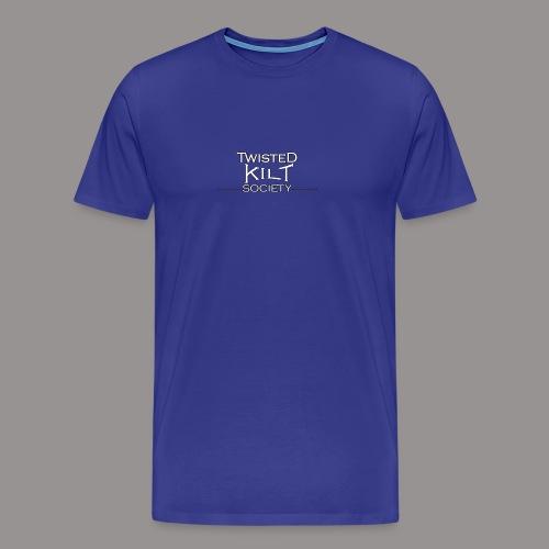TKS words white - Men's Premium T-Shirt