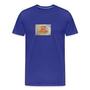 Live Let Live - Men's Premium T-Shirt