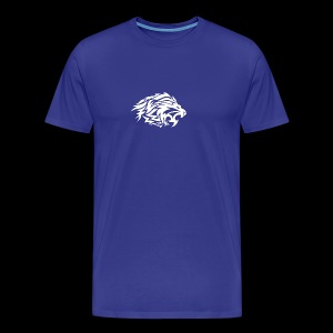 lion white - Men's Premium T-Shirt