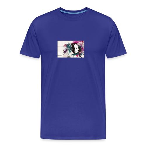 devushka portrait - Men's Premium T-Shirt