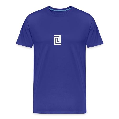 PlainWhiteLogo - Men's Premium T-Shirt