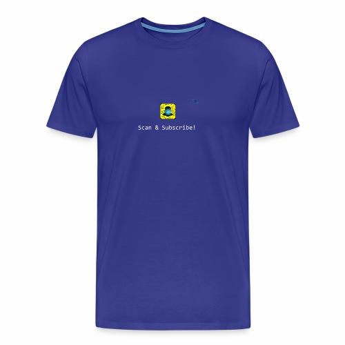 Scan & Subscribe - Men's Premium T-Shirt