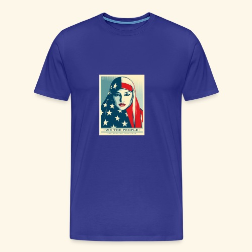 We the people are greater than fear - Men's Premium T-Shirt