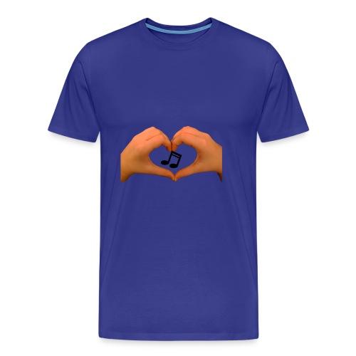 hands of music - Men's Premium T-Shirt