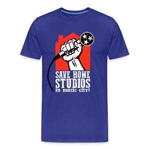 Save Home Studios In Music City - Men's Premium T-Shirt