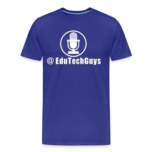 EduTechGuys Mic Logo Shirt - Men's Premium T-Shirt