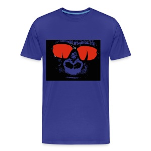 gorilla primate ape - Men's Premium T-Shirt