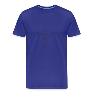 Jesus, I live for you! - Men's Premium T-Shirt