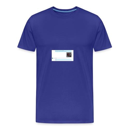 74357abedf89a7c24c9849509037d480_-1- - Men's Premium T-Shirt