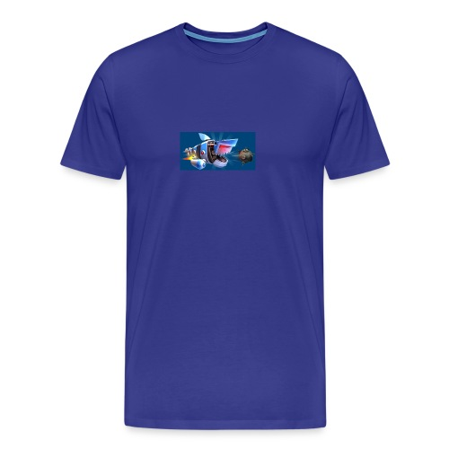 MightyJaws12 Logo - Men's Premium T-Shirt