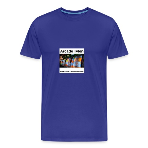 Arcade Tylen Latest Logo Design - Men's Premium T-Shirt