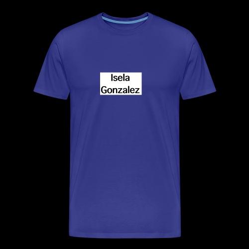 Isela Gonzalez logo - Men's Premium T-Shirt