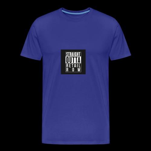Straight outta retail row fortnite Phone case - Men's Premium T-Shirt