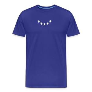 5 Star fashion design sign party gift Army - Men's Premium T-Shirt