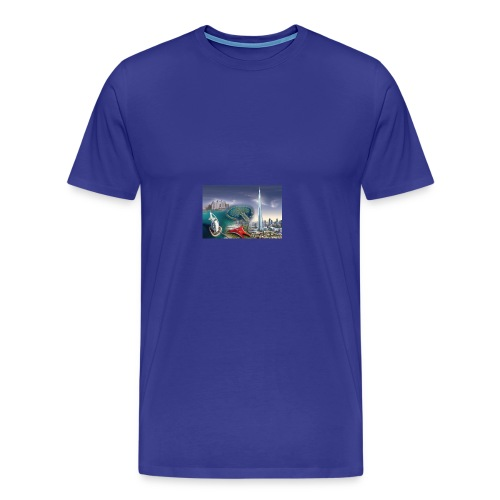 UAE Business Directory Yellow Pages Online - Men's Premium T-Shirt