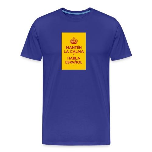 18cc4 keepcalmposter - Men's Premium T-Shirt