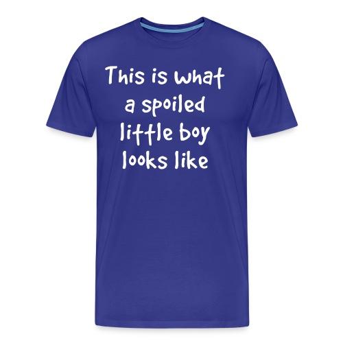 Spoiled Little Boy - Men's Premium T-Shirt